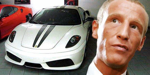 Petzners Chef mit Ferrari gestoppt