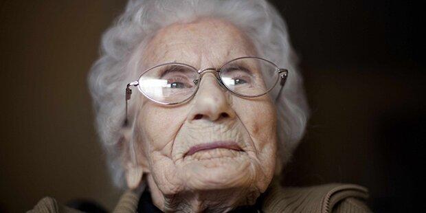 Älteste Frau der Welt feiert Geburtstag