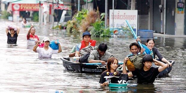 Regierung lässt Bangkok fluten