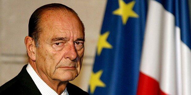 Chirac will nicht gegen Urteil berufen
