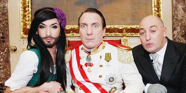 Silvester im TV: Kaiser und Party