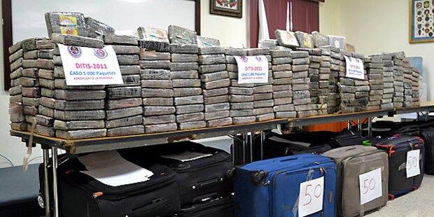 7 Tonnen Kokain aus Schiffswracks geborgen