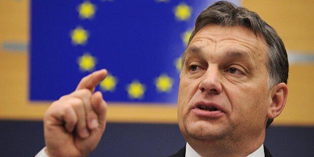 EU: Orban stemmt sich gegen Juncker