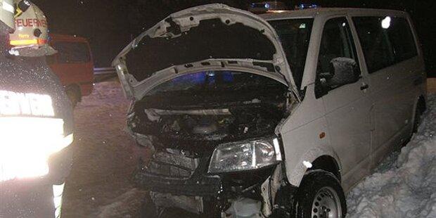 Schwerer Verkehrsunfall bei Wörschach