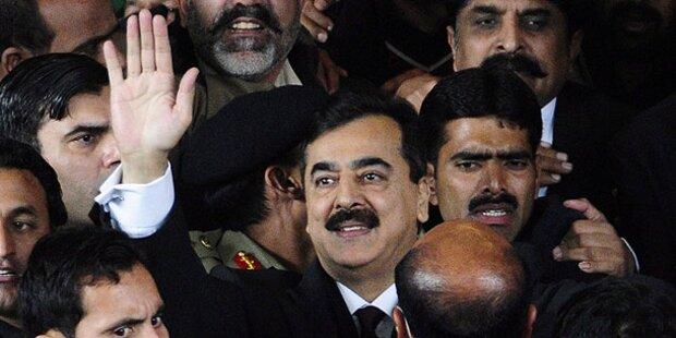 Anthrax-Anschlag auf Pakistanischen Premier