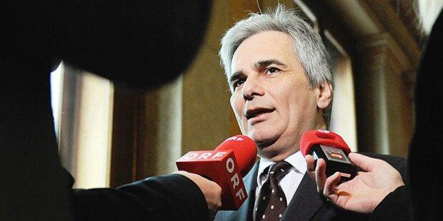 SPÖ plant Regierungs-Umbildung im Frühjahr