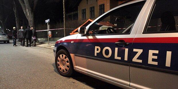 Bei Flucht vor Polizei gegen Laterne gekracht