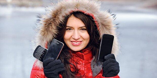 iPhone 4S gibt bei Kälte Geist auf