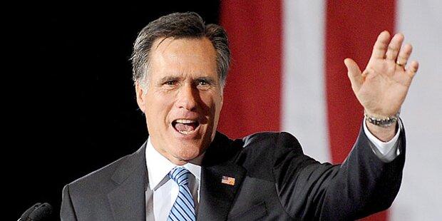 Mitt Romney fährt deutlichen Sieg ein
