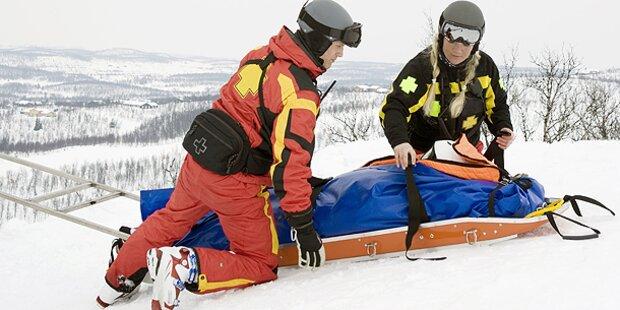 Skifahrer stürzt in den Tod