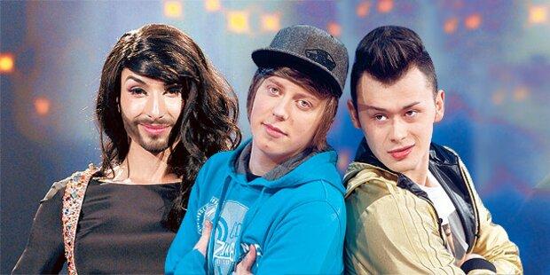 Wer soll für Österreich zum Song Contest?