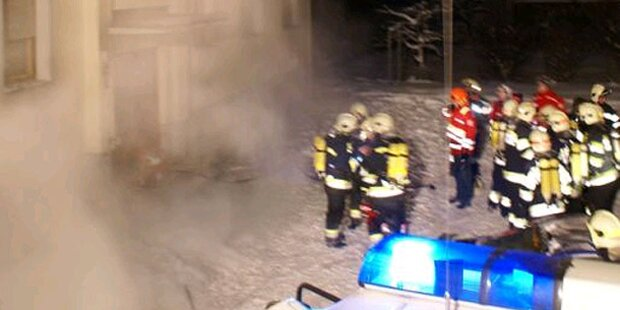 6 Verletzte und eine Festnahme bei Brand