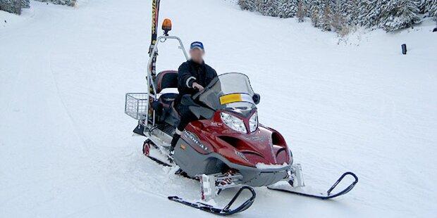 Ski-Doo Unfall