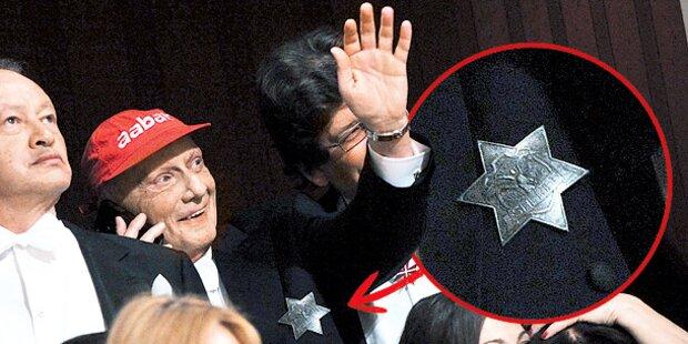 Begeisterter Lauda trug Sheriff-Stern