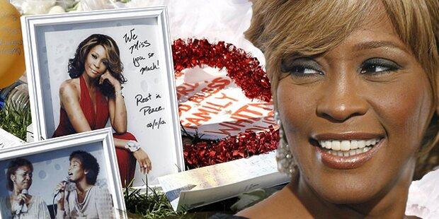 Das war Whitneys große Trauerfeier