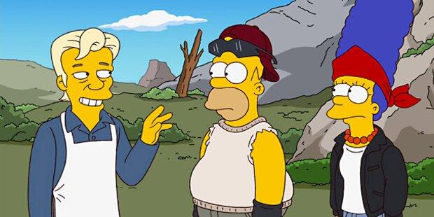 Die Simpsons als Ausgestoßene