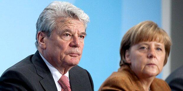 Gauck: Opposition siegt über Merkel