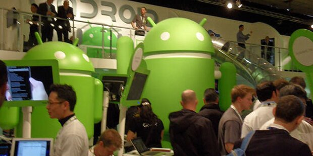 Android hält 61% des Smartphone-Markts