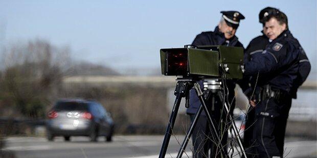 Deutsche Polizei jagte 500-PS-Raser