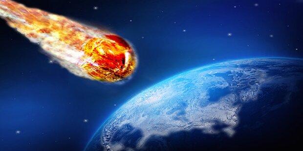 Asteroid rast knapp an der Erde vorbei