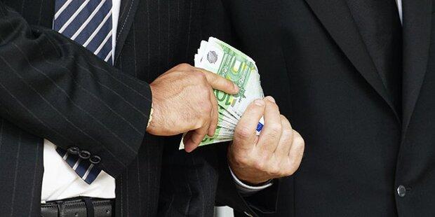 Korruption: Österreich rutscht ab