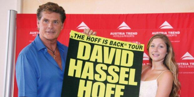 Hasselhoffs Comeback-Tour in Österreich