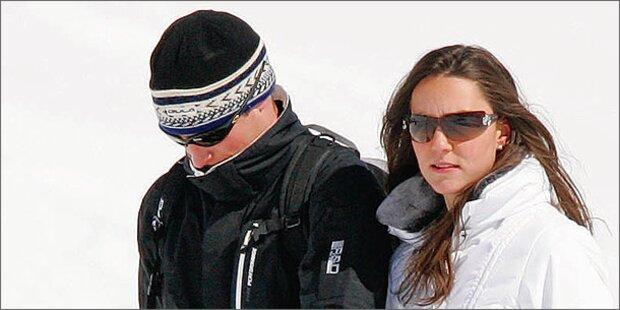 Kate & Will im Schweizer Liebes-Chalet