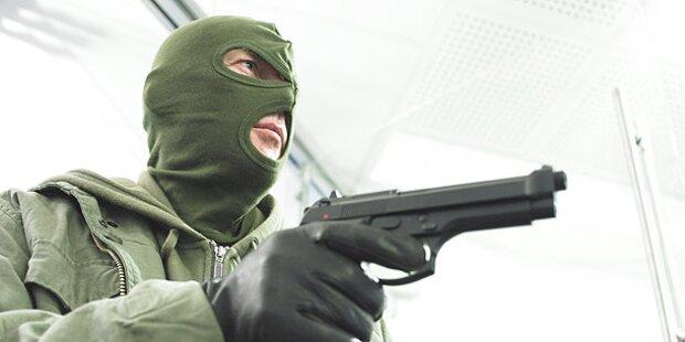 Bankräuber flüchtete ohne Beute