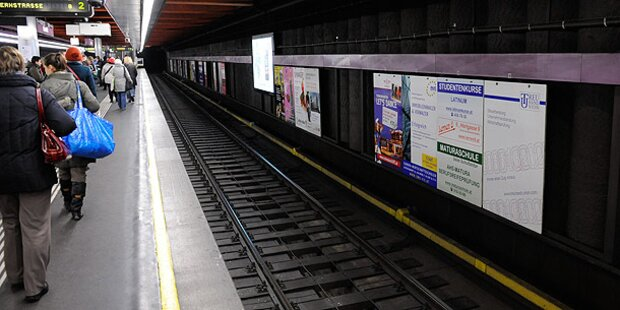 Bomben-Alarm in U-Bahn-Station Schottentor