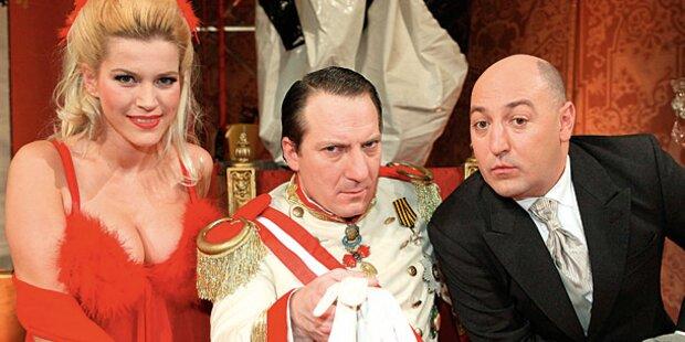 Audienz: Des Kaisers neue Show