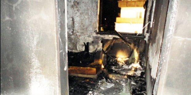 Wohnungsbrand: Nachbar rettet Obersteirer