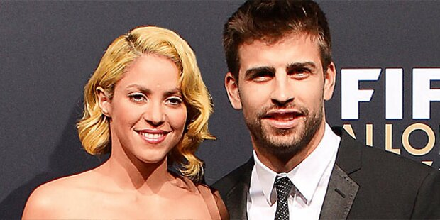 Shakira & Pique: Baby unterwegs!