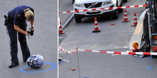 Horror-Crash mit Beton- Mischer: 16-Jährige tot
