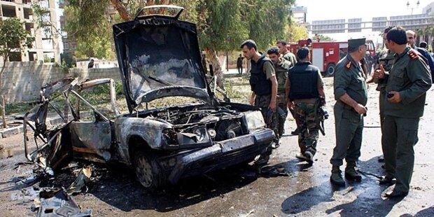 Kämpfe in Damaskus werden immer heftiger