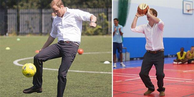 Barfuß: Herzogin Kate zeigt ihre Füße!