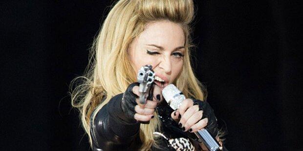 Madonna irritierte 25.000 Fans