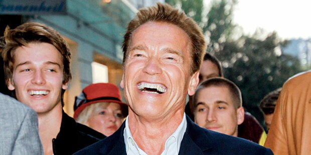 Arnie wegen Doku-Dreh in Grazer Kaserne