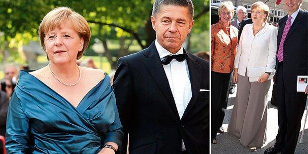 Merkel: Pyjama-Dress für Salzburg