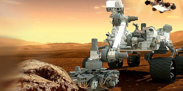 Österreich landet auf dem Mars