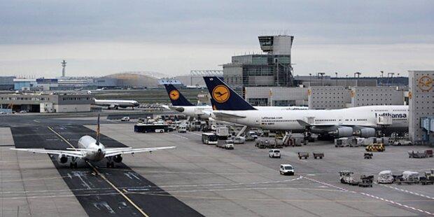Sicherheitsalarm am Flughafen Frankfurt