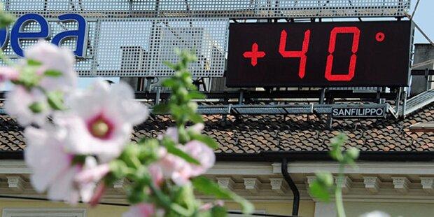 40 Grad: Höllische Hitze quält Italien