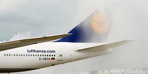 Lufthansa-Maschine: Notlandung in Linz