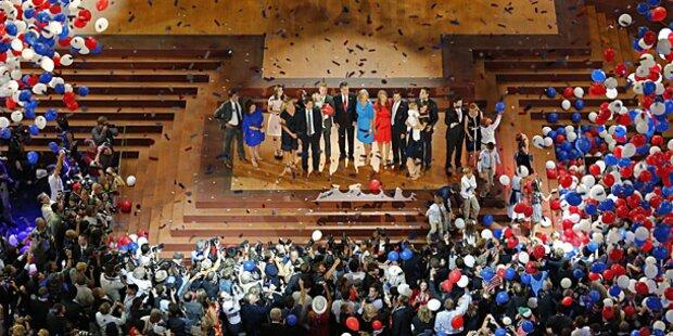 Romney weint, Clint schießt daneben