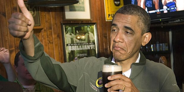 Obama enthüllt sein geheimes Bier-Rezept