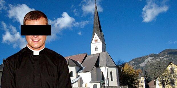 Diebischer Pfarrer weinte bei der Messe