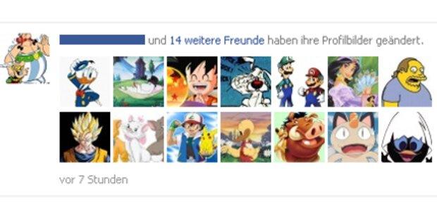 Facebook: Zeichentrick-Aktion rechtswidrig