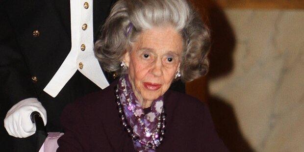Belgien dreht Königin Fabiola den Geldhahn zu