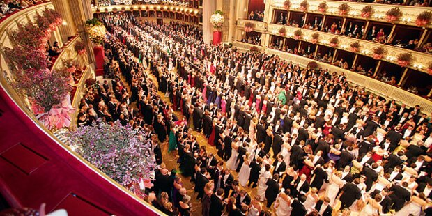 TV-Planer zum Wiener Opernball