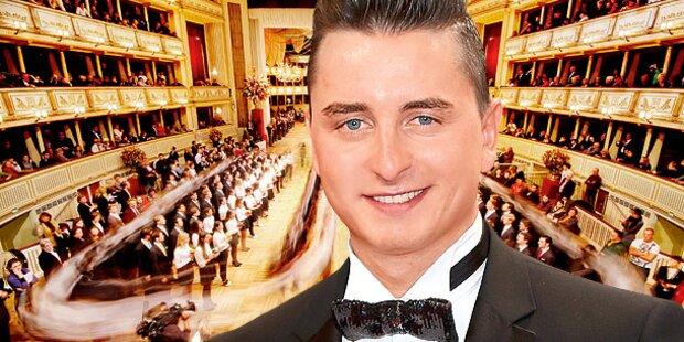 Andreas Gabalier tanzt am Opernball