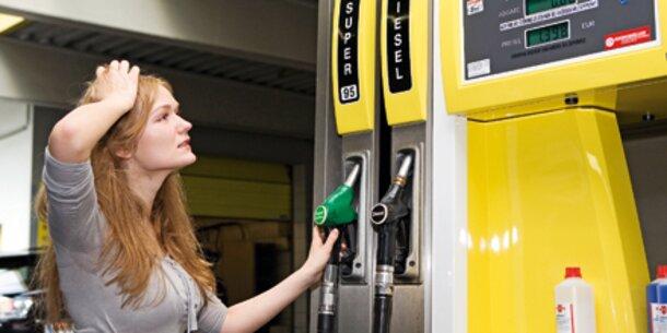 Das Benzin auf die Antwort die Aufbewahrung
